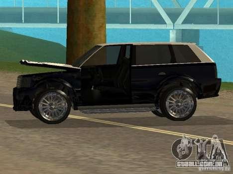 Huntley no GTA IV para GTA San Andreas vista traseira