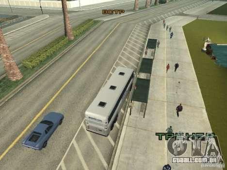 Linha de ônibus em Las Venturas para GTA San Andreas sétima tela