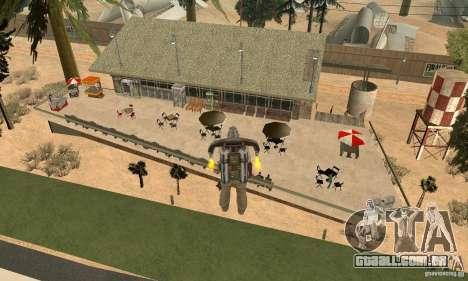 New CJs Airport para GTA San Andreas terceira tela