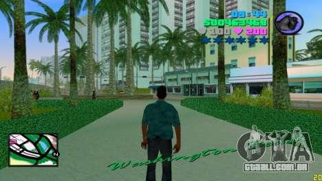 Radar Praça para GTA Vice City