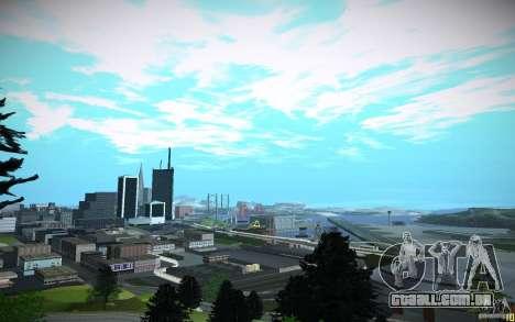 Timecyc para GTA San Andreas quinto tela