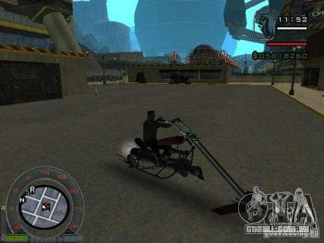 Moto de motociclista da cidade alienígena para GTA San Andreas