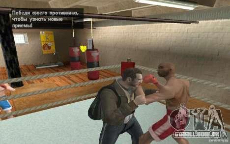 O sistema de luta do GTA IV V 3.0 para GTA San Andreas sexta tela