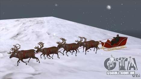 É que a equipe do Papai Noel para GTA San Andreas
