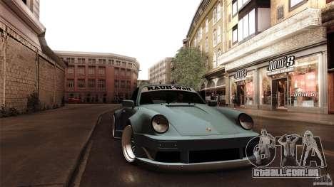 Porsche 911 Turbo RWB DS para GTA San Andreas vista traseira
