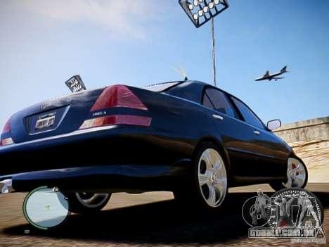 TOYOTA MARK II GRANDE HD para GTA 4 traseira esquerda vista