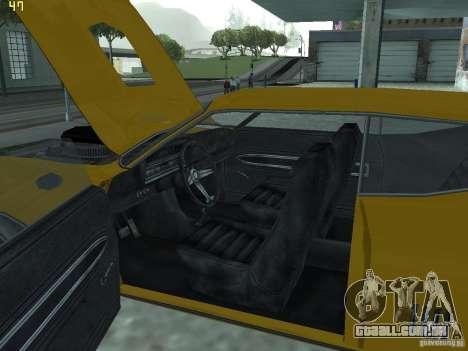 Ford Torino 70 para GTA San Andreas vista interior