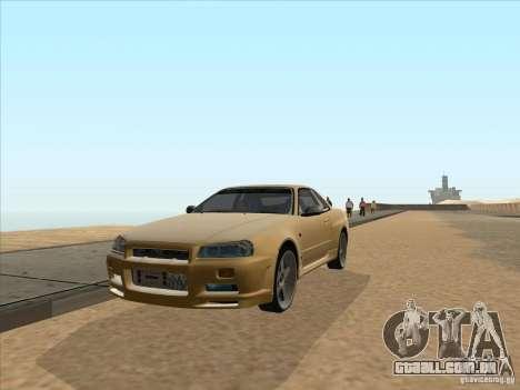Nissan Skyline R34 VeilSide para GTA San Andreas