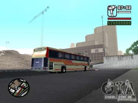 MARCOPOLO III SCANIA 112 para GTA San Andreas vista traseira
