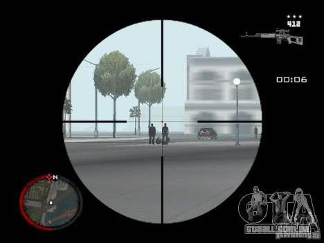 MASSKILL para GTA San Andreas quinto tela