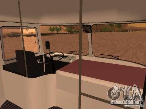 SULCO 672.60 para GTA San Andreas vista interior