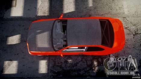 BMW E36 Alpina B8 para GTA 4 vista inferior