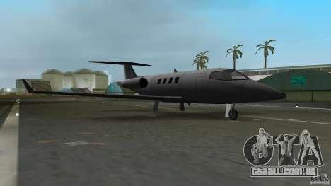 Shamal Plane para GTA Vice City deixou vista