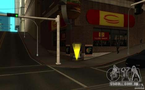 Pumper Nic Mod para GTA San Andreas segunda tela