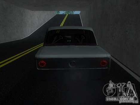 VAZ 2106 Drag Racing para GTA San Andreas vista direita