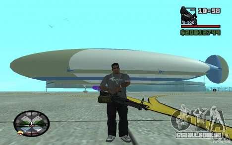 Grande dirigível para GTA San Andreas