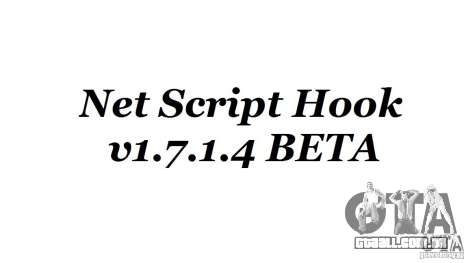 Net Script Hook v1.7.1.4 [Beta] para GTA 4