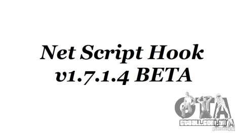 Net Script Hook v1.7.1.4 [Beta] para GTA 4