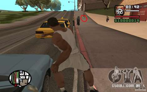 Faca jogando para GTA San Andreas