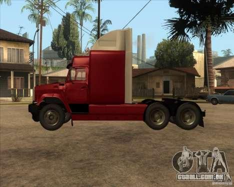 Super Zil v 2.0 para GTA San Andreas esquerda vista