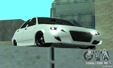 VAZ-2112 carro Tuning para GTA San Andreas vista direita