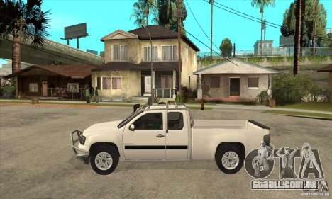 GMC Sierra para GTA San Andreas esquerda vista