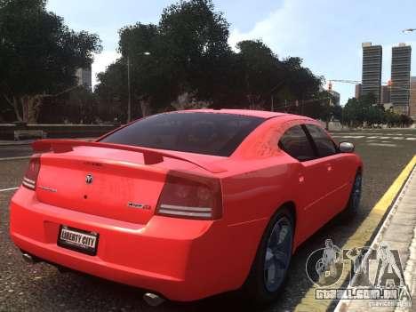Dodge Charger SRT8 2006 para GTA 4 esquerda vista