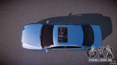 BMW 530I E39 e63 white wheels para GTA 4 vista direita