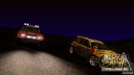 Seat Ibiza Rally para as rodas de GTA San Andreas