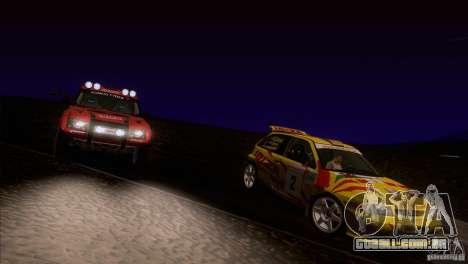 Seat Ibiza Rally para as rodas de GTA San Andreas