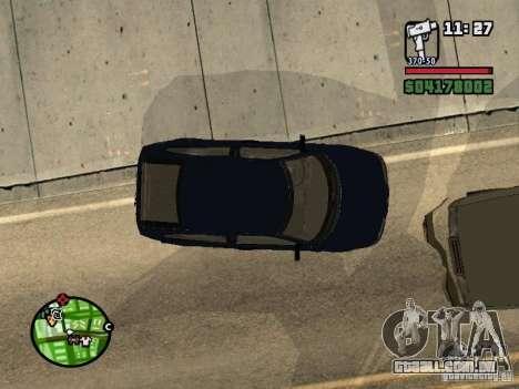 VAZ 21124 Coupe para GTA San Andreas traseira esquerda vista