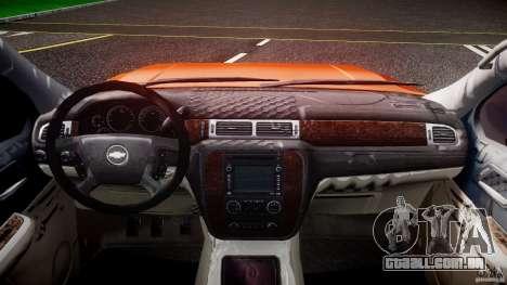 Chevrolet Silverado 2011 para GTA 4 vista de volta