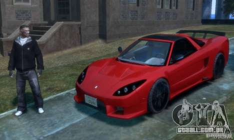Acura NSX Veilside Fortune v 1.0 para GTA 4
