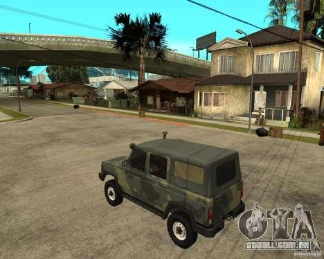 UAZ-3172 para GTA San Andreas esquerda vista