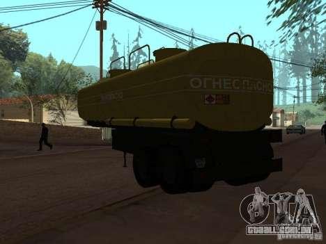 tanque PPC para GTA San Andreas esquerda vista