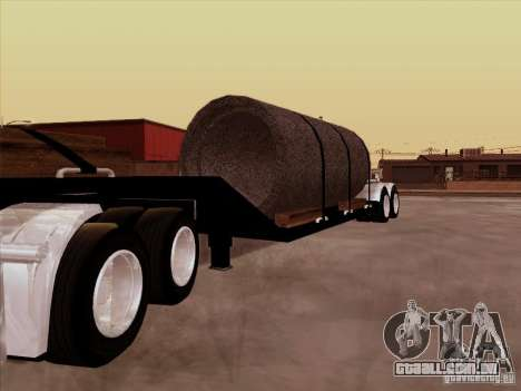 Reboque, Custom Peterbilt 378 para GTA San Andreas