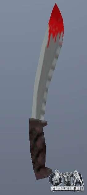 Neues Messer para GTA Vice City segunda tela