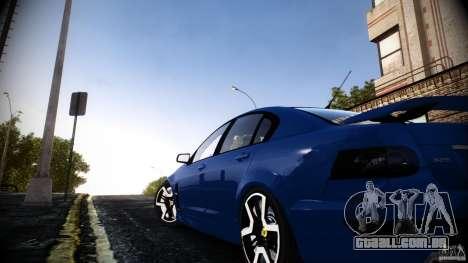 Holden HSV GTS para GTA 4 esquerda vista