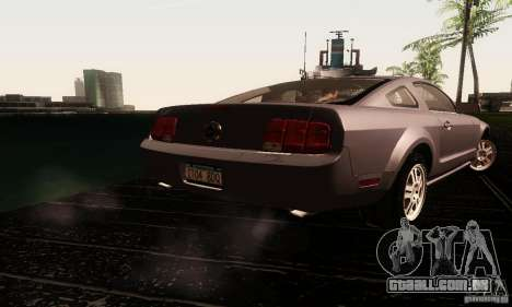 Ford Mustang GT Tunable para vista lateral GTA San Andreas