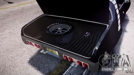 Plymouth Roadrunner 440 1971 para GTA 4 vista de volta