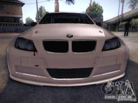 BMW 320SI Drift para GTA San Andreas vista superior
