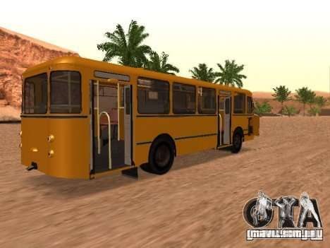 Scripts para Liaz 677 para GTA San Andreas