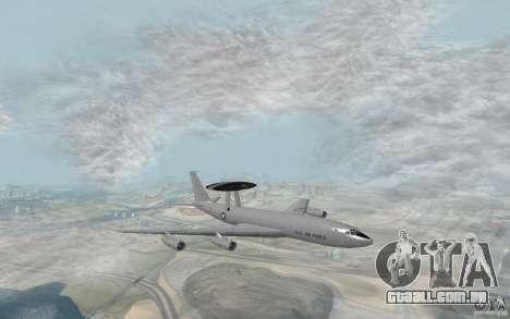 Boeing E-3 Sentry para GTA San Andreas