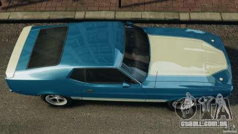 Ford Mustang Mach I 1973 para GTA 4 vista direita