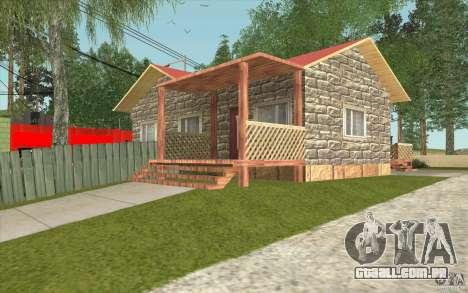 Uma aldeia nova Dillimur para GTA San Andreas sexta tela