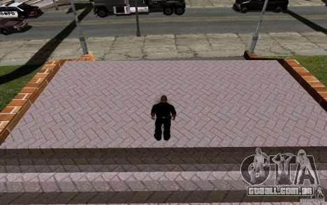 A nova quadra de basquete para GTA San Andreas oitavo tela