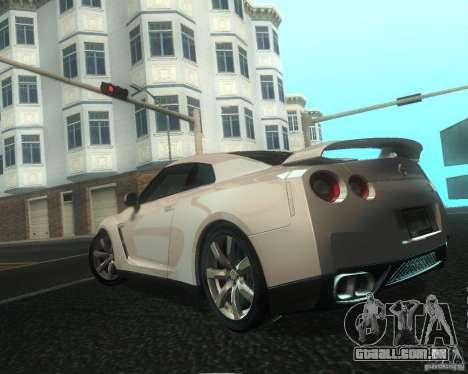 Nissan GTR R35 Spec-V 2010 Stock Wheels para as rodas de GTA San Andreas