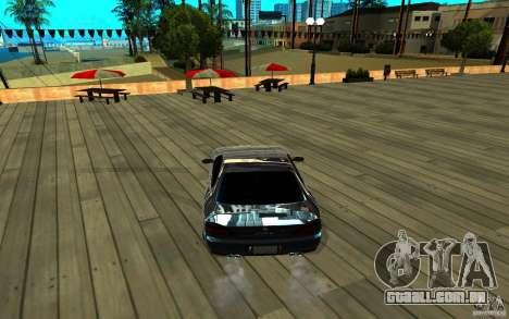 ENB para qualquer computador para GTA San Andreas oitavo tela