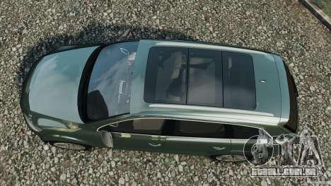 Audi Q7 V12 TDI v1.1 para GTA 4 vista direita