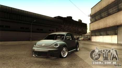 Volkswagen Beetle RSi Tuned para GTA San Andreas vista direita
